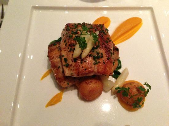 The Pear Tree Restaurant : Trout at The Pear Tree