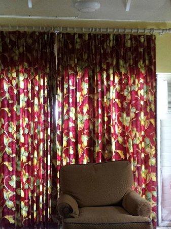 Chrisanns Beach Resort: apartment curtains