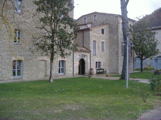 Borgo Le Terre Del Verde: Ingresso reception.