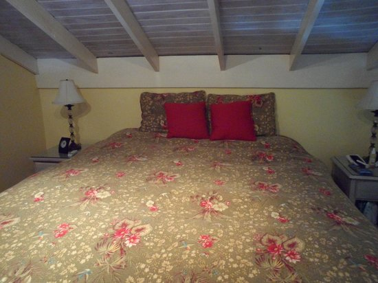 Chrisanns Beach Resort: bedroom (very large, queen size bed)