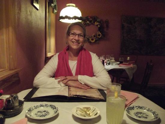 Bavarian Inn Restaurant: A contented diner