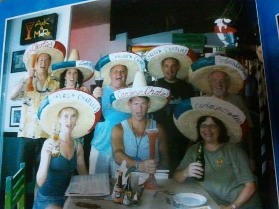 Carlos' n Charlie's Beach Club : The fun Bunch Nov 09