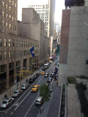 The Jewel Facing Rockefeller Center: view from my room
