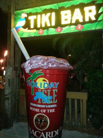 Tiki Bar At Holiday Isle: Holiday Isle Tiki Bar
