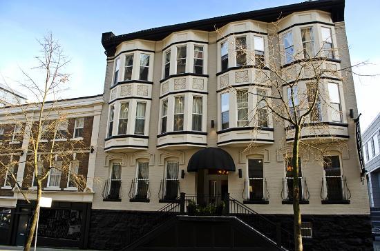 Victorian Hotel: Homer Street exterior view