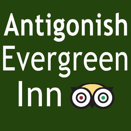 Antigonish Evergreen Inn : Our new Hwy sign