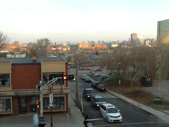 Vue sur Ottawa et le voisinage de L'Auberge de la Gare.