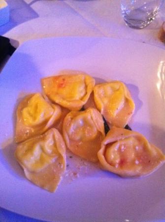 Bovida Music Restaurant: Tortelli di zucca fatti a mano