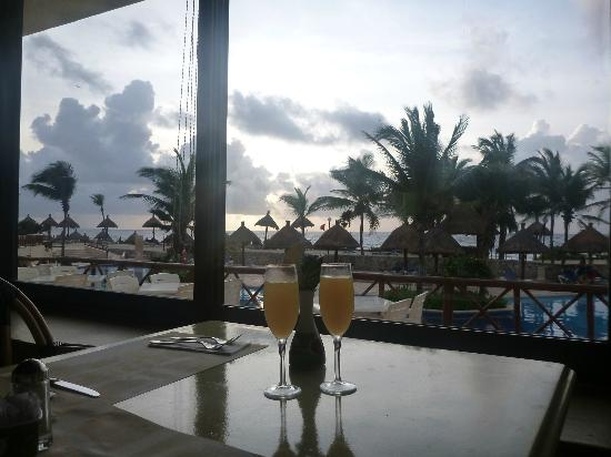 Grand Bahia Principe Coba: A view from the Dolce Vita Restaurant