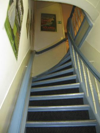Hotel Museumzicht: Steep stairs