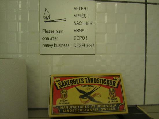 Hotel Museumzicht: A gentle reminder ;p
