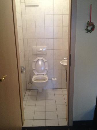 Seehotel Zur Hopfenkönigin: seperate toilette room
