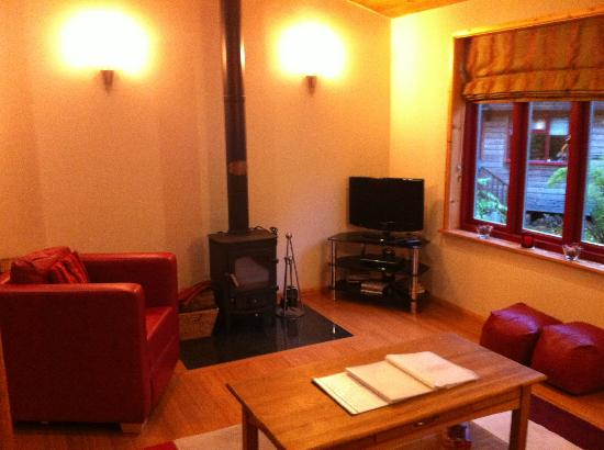 Rosehill Lodges: Lounge area