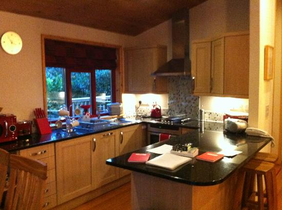 Rosehill Lodges: Kitchen area