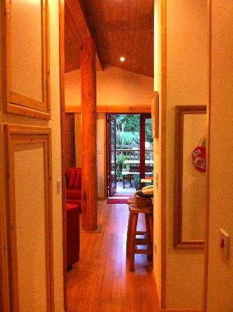 Rosehill Lodges: From the hallway to the living area