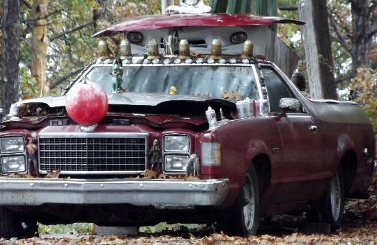 Celestial Windz Harmonic Bizaar: A one of a kind automobile