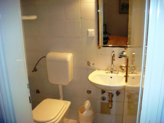 Garni Hotel Vila Bojana: Banheiro