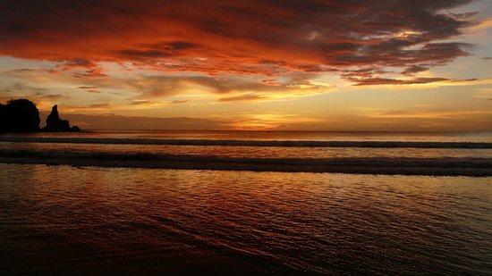Casa Ariki: sunset