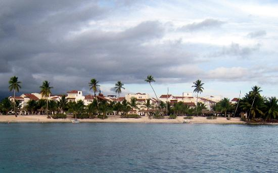 Cadaques Bayahibe: Resort view from the Ocean
