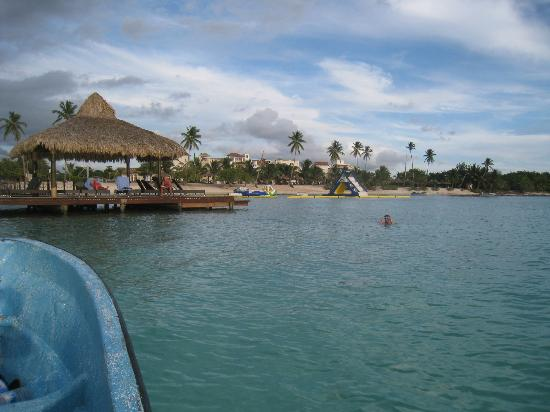 Weare Cadaques Bayahibe Hotel: Beach view from the ocean