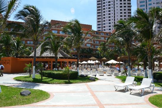 Fiesta Inn Veracruz Boca del Rio: Terraza
