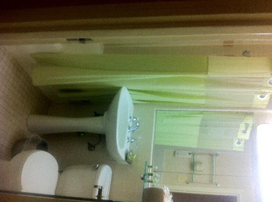 โรงแรมรูเซเวลท์: Baño habitación estándar