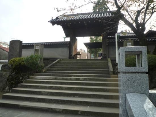 Sengaku-ji Temple : 四十七士の墓入口