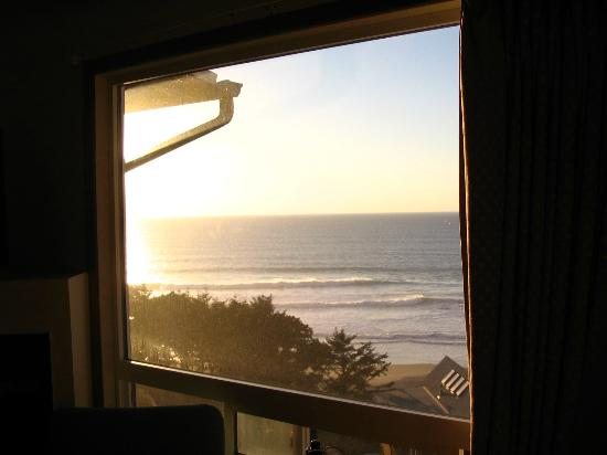 The Edgecliff Motel: View from my room