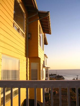 The Edgecliff Motel: View from the common deck