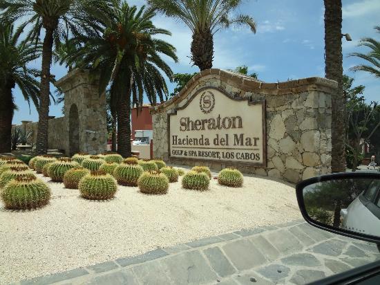 Sheraton Hacienda del Mar Golf & Spa Resort Los Cabos: Hotel Exterior (driving in)
