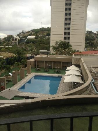 Crowne Plaza Port Moresby: Great Views from our room