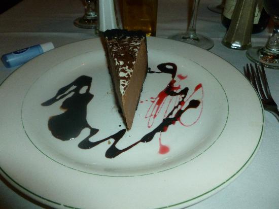 Porto-bello Restaurant: Yummy creamy mousse!