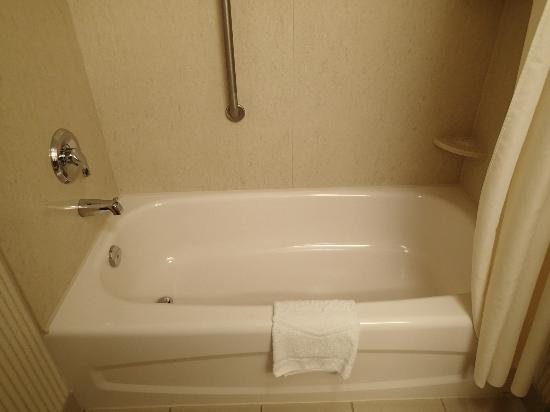 Hampton Inn & Suites Toronto Airport: Bathtub