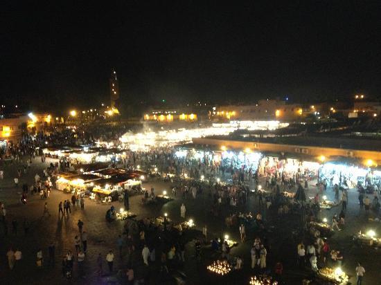 Meriem Hotel : Plaza Jemna el Fna