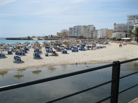 Hotel Som Fona: S'illot beach