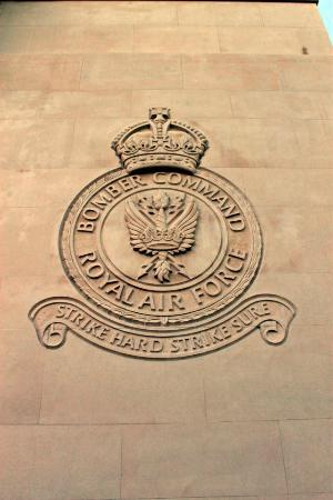 Bomber Command Memorial: Bomber Command badge