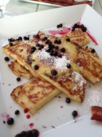 The Loft: huckleberry Crepes