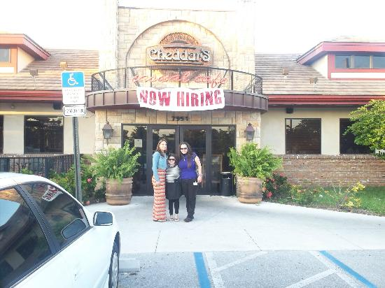 Cheddar's: entrada al restaurant