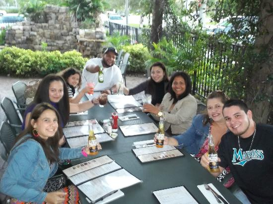 Cheddar's: cena en familia numerosa