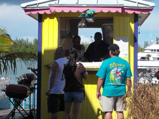 Daddy Brown's Conch Stand: Best Conch Salad ever! Mr.Brown