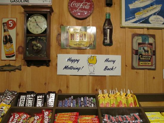AmberJack Seafood & Steaks : Candy counter