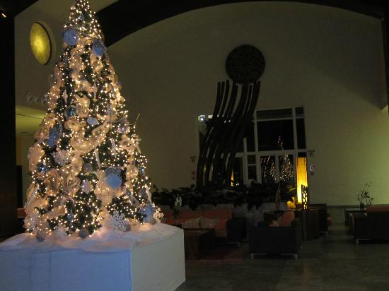 Now Larimar Punta Cana: Main Lobby, Christmas is almost there