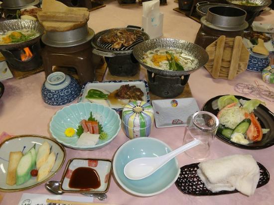 Hotel Tutui: 夕食