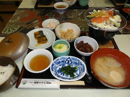 Hotel Tutui: 朝食