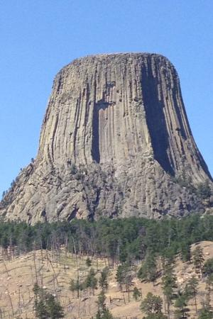 Devils Tower, WY : Devil's Tower during Sturgis' Black Hills Rally