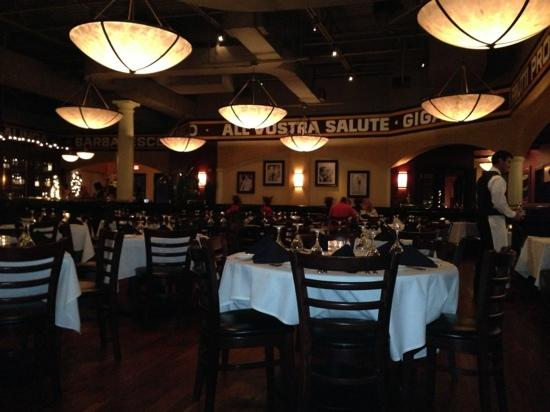 Timpano Italian Chophouse : dining room