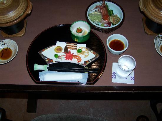 Kisojino-yado Iwaya: Dinner - first course