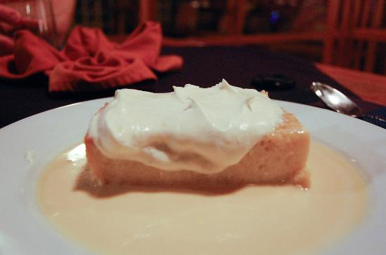Utopia Village: Over the top tres leches cake