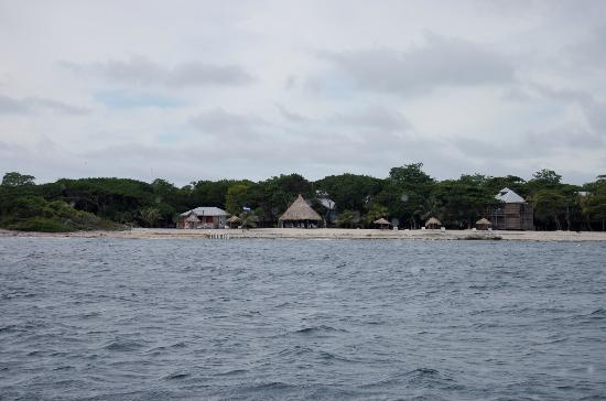 Utopia Village: View from the ocean