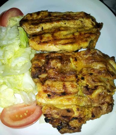 Quebracho Lerma : the grilled chicken breast, excellent